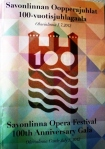 Savonlinna Festival's 100 Anniversary Concert featuring singers and arias from past festivals (5 July 12)