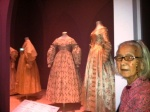 Wedding Dresses from V & A Museum t National Museum. A treat for mum as we gaped at the laces and the detailing in the dresses.