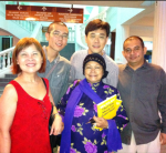 With Julie Sudiro & Friends from Singapore